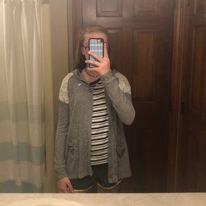 cardigan girls sweater